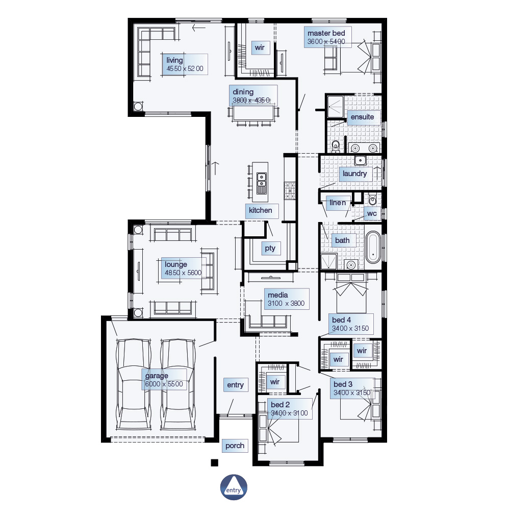 Simonds homes floor plans gurus floor for Builders floor plans