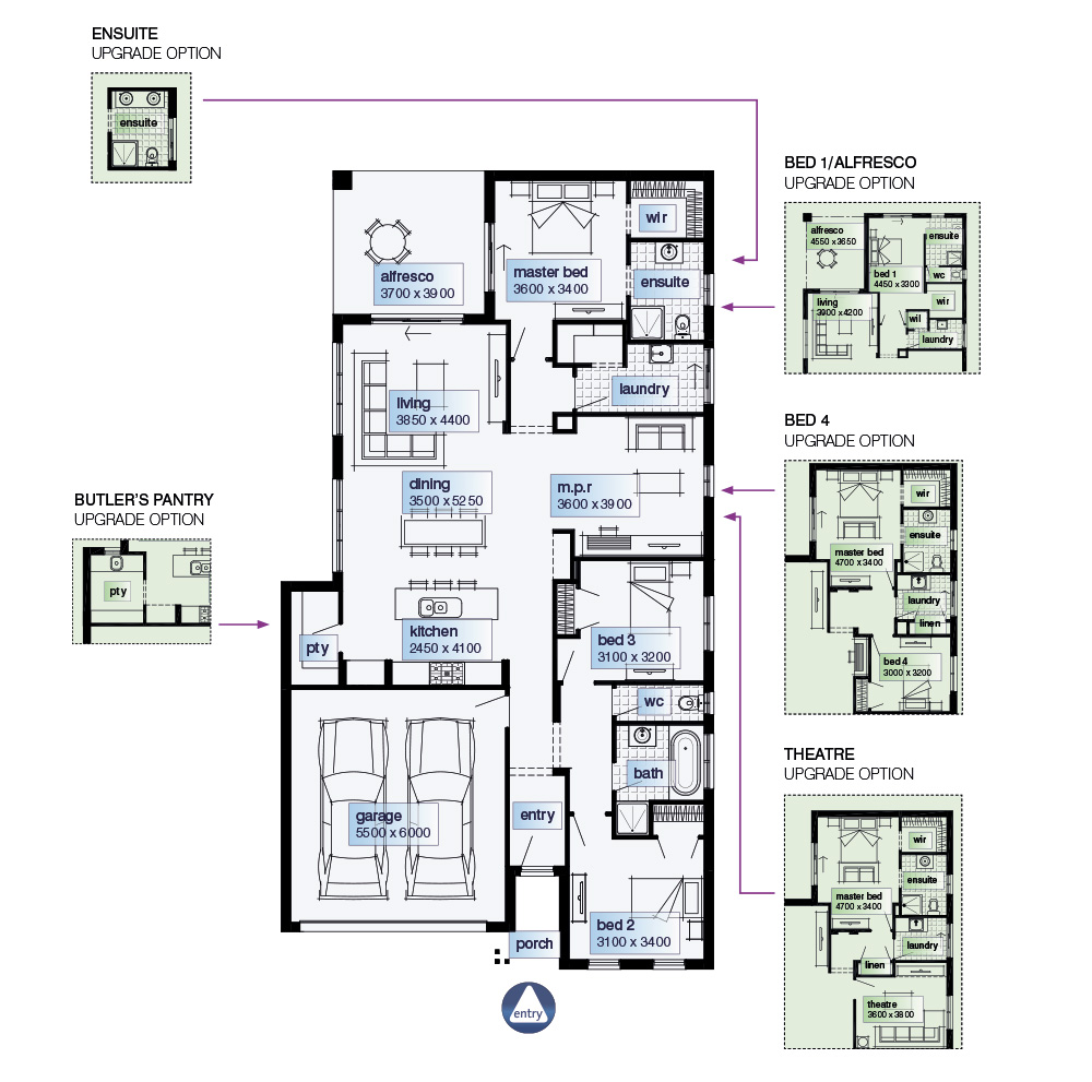 100+ Simmons Homes Floor Plans Colors | Inglewood Simonds Homes ...