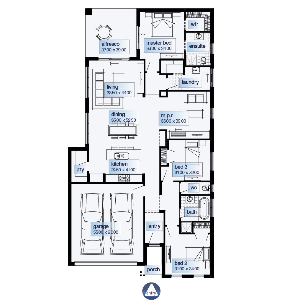 Simonds Homes Floorplan   Hudson Simonds Homes Floorplan   Hudson