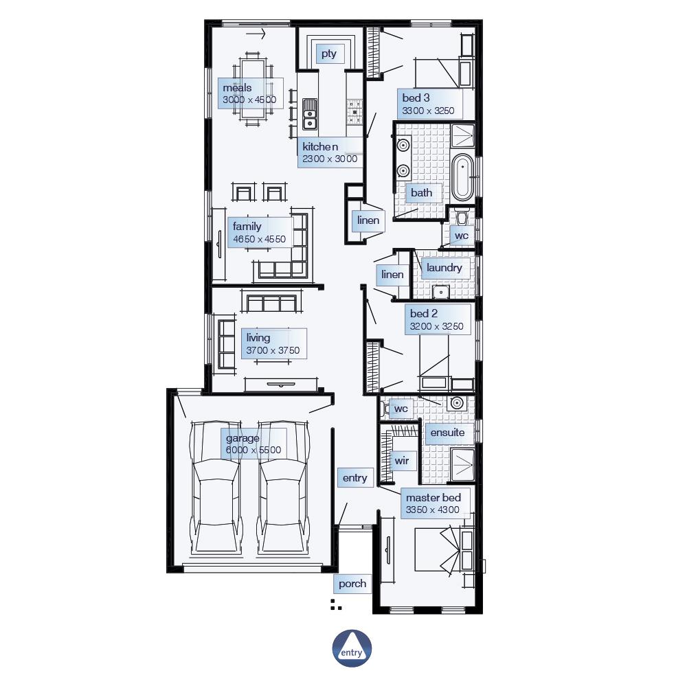 Simmons Homes Floor Plans